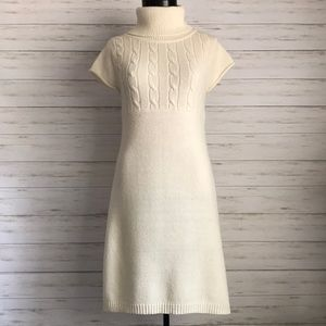 SO cream sweater dress